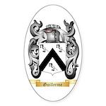 Guillerme Sticker (Oval 10 pk)