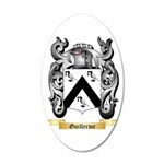 Guillerme 20x12 Oval Wall Decal