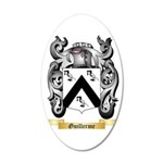 Guillerme 35x21 Oval Wall Decal