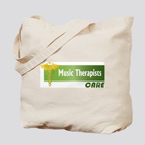 Music Therapists Care Tote Bag