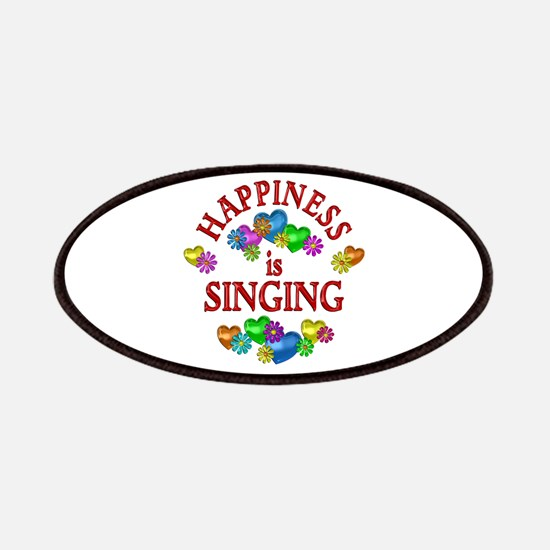 Happiness is Singing Patches