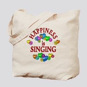 Happiness is Singing Tote Bag