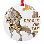 Smooth Sax Ornament