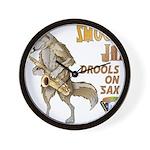 Smooth Sax Wall Clock