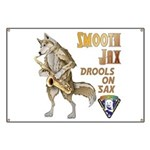 Smooth Sax Banner