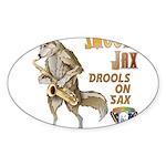 Smooth Sax Sticker