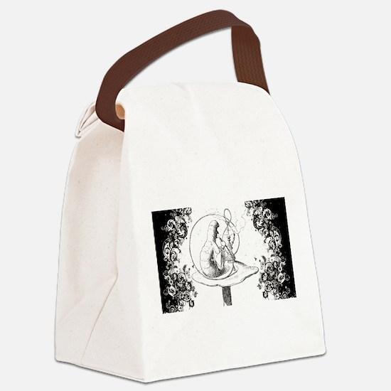 Absalom Swirls Canvas Lunch Bag