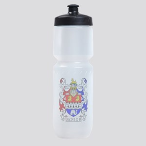Senior Coat of Arms Sports Bottle