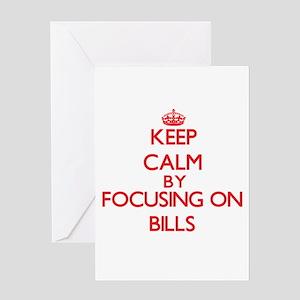 Bills Greeting Cards