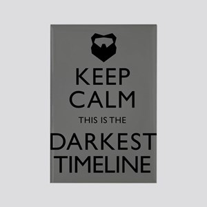 Keep Calm Darkest Timeline Community Magnets