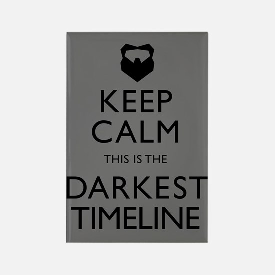 Keep Calm Darkest Timeline Community Magnets