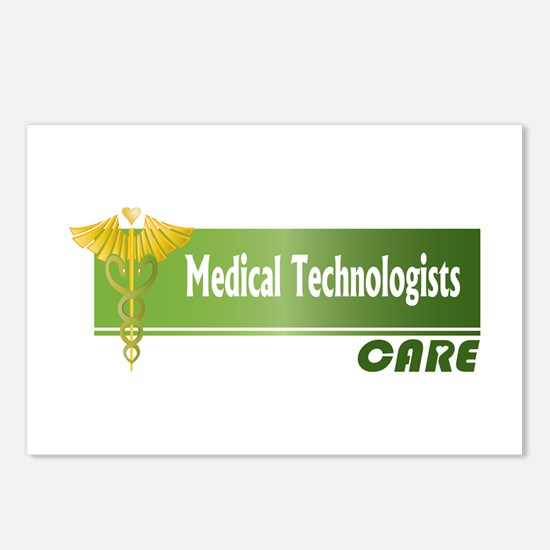 Medical Technologists Care Postcards (Package of 8