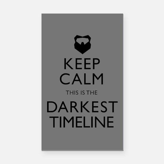 Keep Calm Darkest Timeline Community Rectangle Car