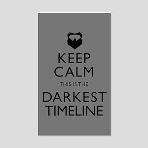 Keep Calm Darkest Timeline Community Sticker