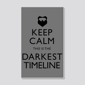 Keep Calm Darkest Timeline Community Wall Decal