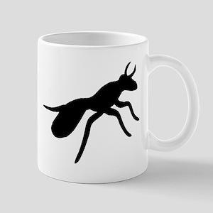 Ant Silhouette Mugs