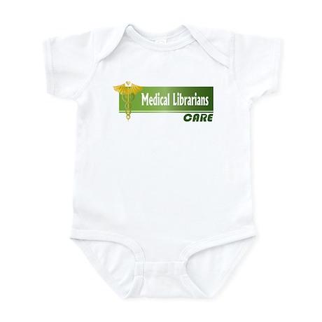 Medical Librarians Care Infant Bodysuit