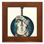 WooFPlay Band Logo Framed Tile
