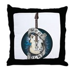 WooFPlay Band Logo Throw Pillow