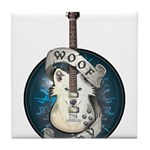 WooFPlay Band Logo Tile Coaster