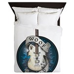 WooFPlay Band Logo Queen Duvet