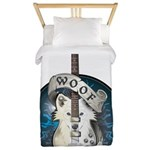 WooFPlay Band Logo Twin Duvet