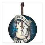 WooFPlay Band Logo Square Car Magnet 3