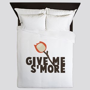Give Me Smore Queen Duvet