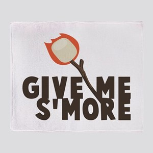 Give Me Smore Throw Blanket