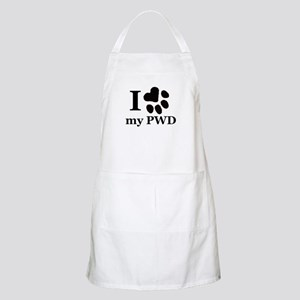I Love My PWD Apron