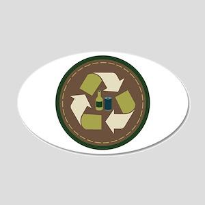 Recycle Circle Wall Decal