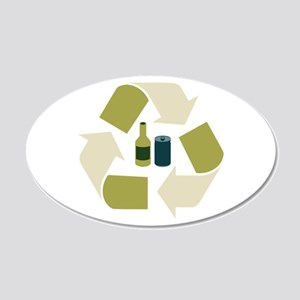 Recycle Tins Wall Decal