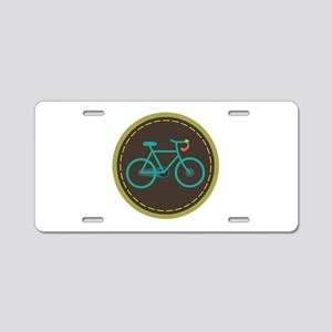 Bicycle Circle Aluminum License Plate