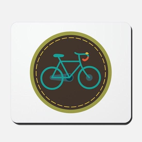 Bicycle Circle Mousepad