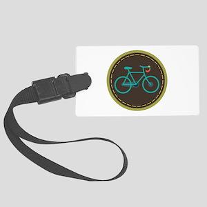 Bicycle Circle Luggage Tag