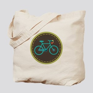 Bicycle Circle Tote Bag