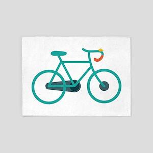 Bike 5'x7'Area Rug