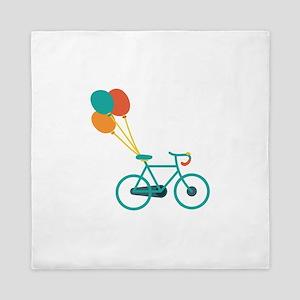 Balloon Bike Queen Duvet