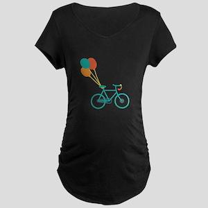 Balloon Bike Maternity T-Shirt