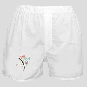 Draw Anchor Aim Boxer Shorts