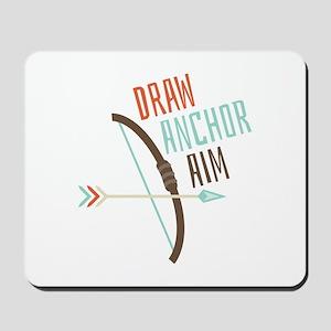 Draw Anchor Aim Mousepad