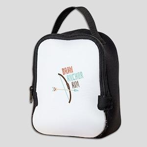 Draw Anchor Aim Neoprene Lunch Bag