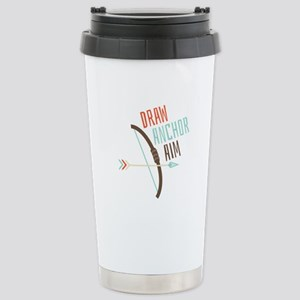 Draw Anchor Aim Travel Mug