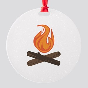 Fire Wood Ornament