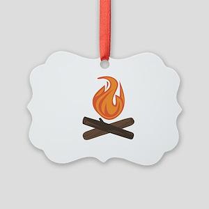 Fire Wood Ornament