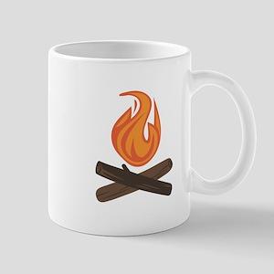 Fire Wood Mugs