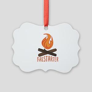 Firestarter Campfire Ornament
