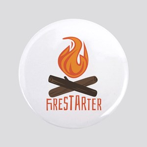 "Firestarter Campfire 3.5"" Button"