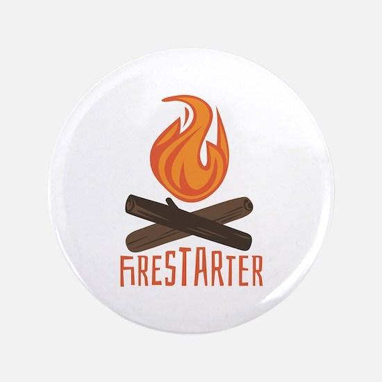 """Firestarter Campfire 3.5"""" Button"""