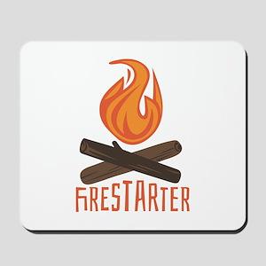 Firestarter Campfire Mousepad